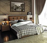 Кровать Sandra 2 категория с матрасом Compact Effect Low