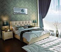 Кровать Marlena, 3 категория с матрасом Compact Effect Low