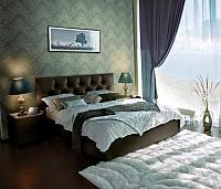 Кровать Marlena с подъемным механизмом, 2 категория с матрасом Compact Effect Low