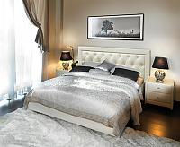 Кровать Simona с подъемным механизмом, 2 категория с матрасом Compact Effect Low