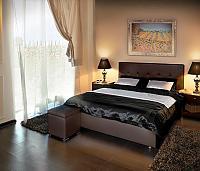 Кровать Greta с подъемным механизмом, 3 категория с матрасом Compact Effect Low