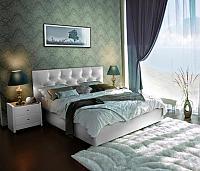 Кровать Marlena с подъемным механизмом, 3 категория с матрасом Compact Effect Low