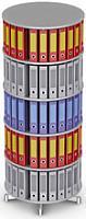 Вращающийся стеллаж для папок Moll CompactFile диаметр 80 см, 5 этажей